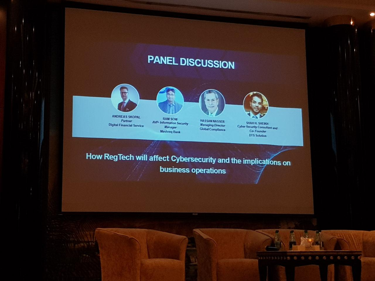 DTS Solution at RegTech MENA Dubai 2018